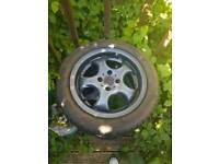 "16"" EMR alloy wheels with 4 brand new tyres"