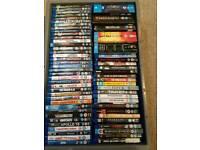 Blu-ray dvds.