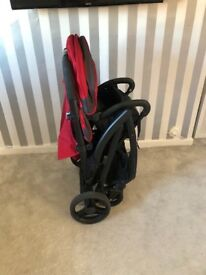 Joie double pushchair, good condition