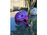 Kids cycle helmet microscooter