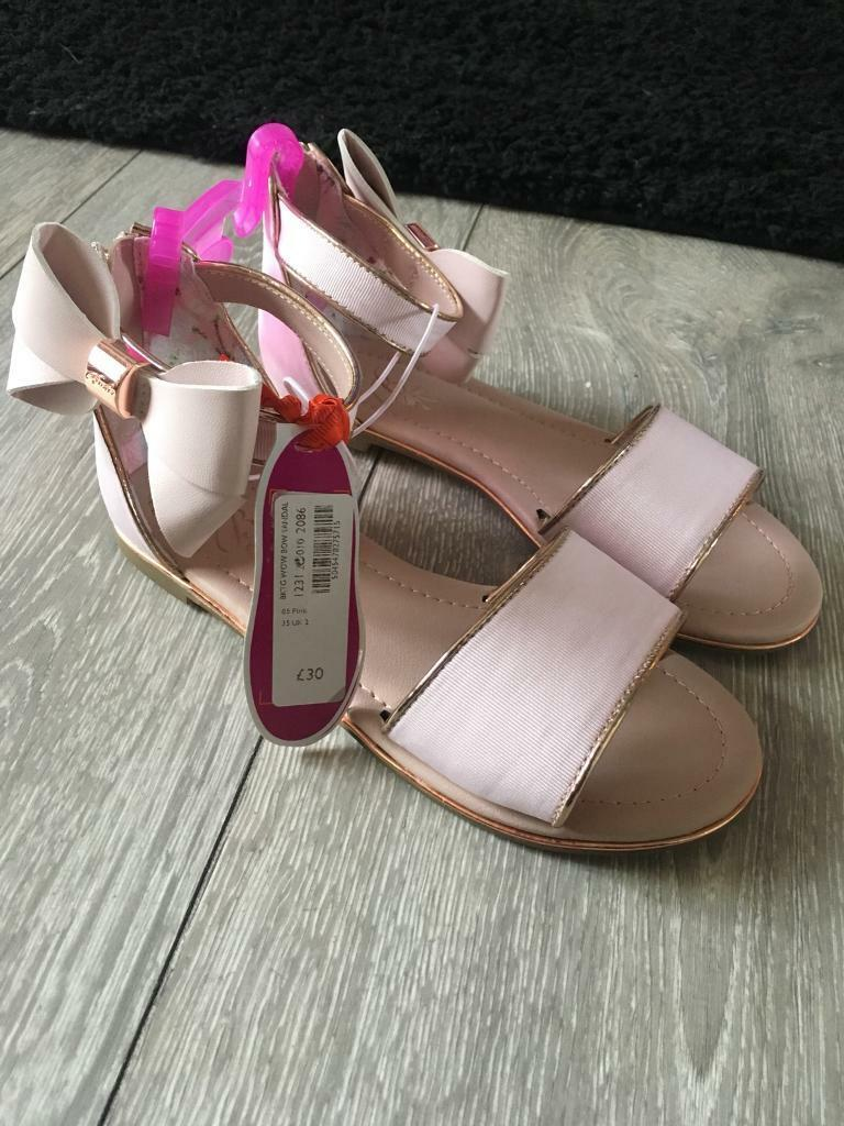 Ted Baker girls Sandals size 2