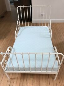 Extendable IKEA bed frame and mattress