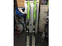 Pair of Rossignol Bandit 3 skis + bindings + Scott ski poles (Standish nr Wigan)