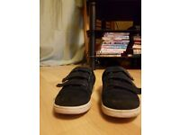 Navy shoes/trainers size 11 UK-NEXT