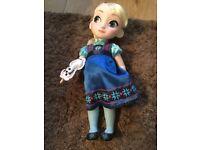 Elsa from frozen animator doll