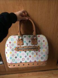 Louis Vuitton real leather handbag