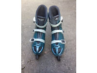 Size 11 Roces inline skates, barely used