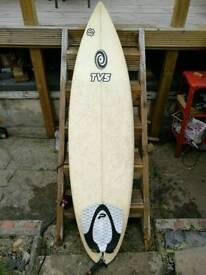 """TVS 6ft 5"""" surf board"""
