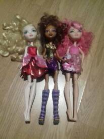 Monster High Dolls. Bundle 1