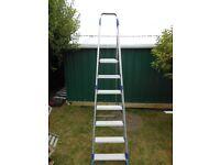 ABRU Step Ladder 7 rungs including the plaform