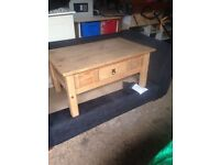 Captains coffee table