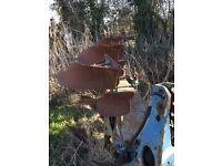 Ransomes TSR 300 -3 furrow plough