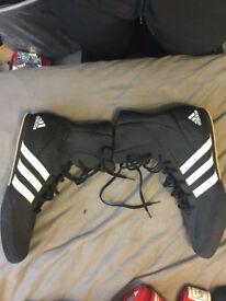Adidas Box Hog 2 Boxing Boots - size 14 UK