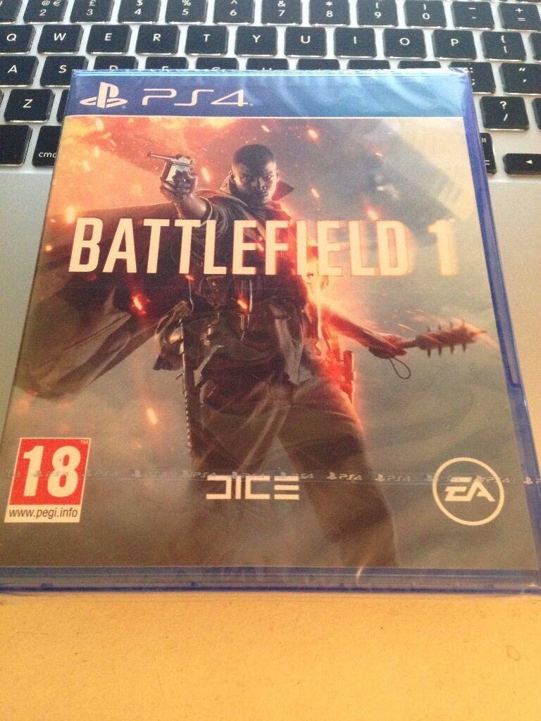 Battlefield 1 - PS4 - Brand New Unsealed