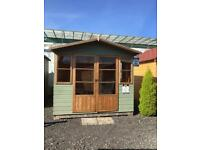 Ex display shed or summerhouse 8 x 8