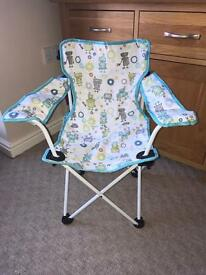 John Lewis Folding Kids Chair - Robots Design