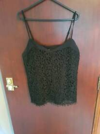 Black top gok for tu size 10