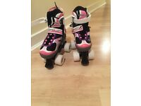 Kids adjustable quad skates size 39-32 never used £15