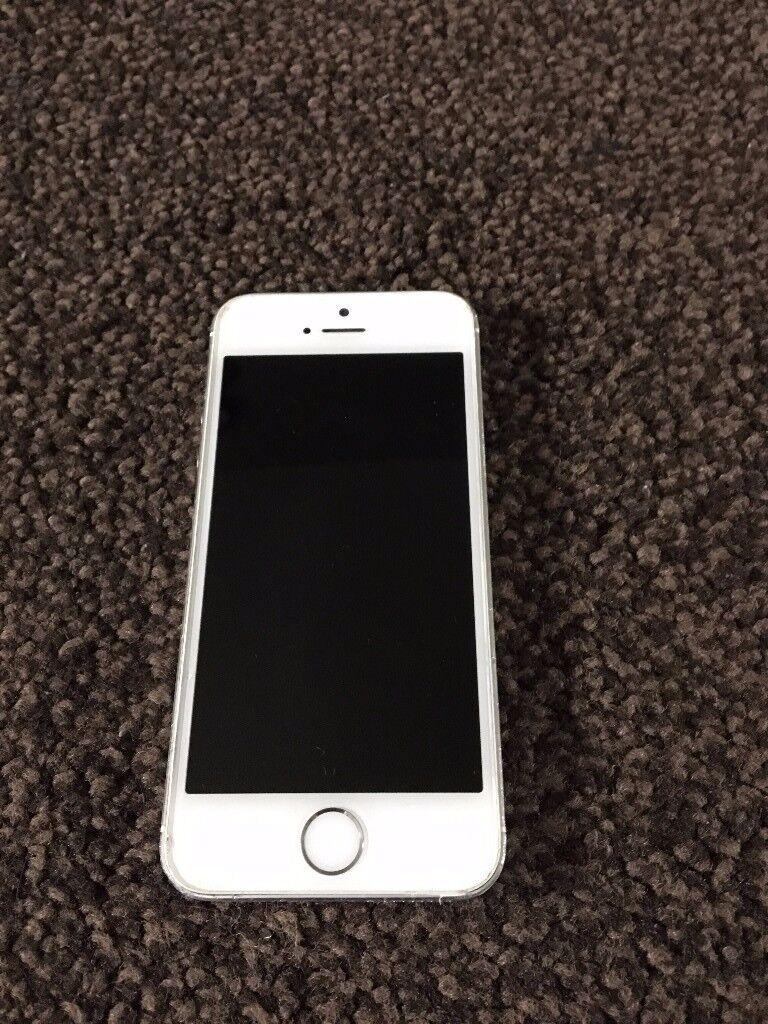 iPhone 5S 16GB Unlocked Silver