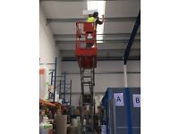 SCISSOR LIFT HIRE (SHEFFIELD ROTHERHAM BARNSLEY DONCASTER CHESTERFIELD)