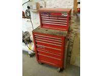 """Snap On 26"""" Toolbox Roll Cab and top box"""