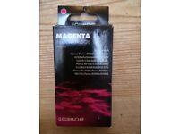 Magenta ink printer cartridge new and unused
