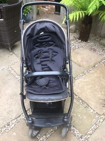 Oyster Max Double Buggy - Black