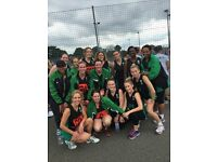 ADULT Netball players of all ages, nationalities, shapes and sizes