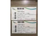 Jamiroquai SEATED TICKETS - Sat 4th Nov - Block 02 !! - Arena Birmingham