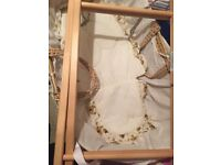 Saplings of Shropshire Moses Basket Baby Carrier