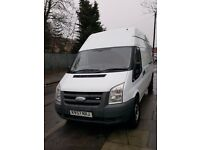 Ford transit 2007 57 plate 2.2 MWB high top