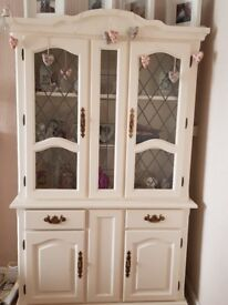 Gorgeous shabby chic display cabinet