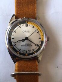 Vintage ORIS men's wind up watch