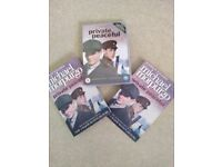 Private Peaceful DVD and Two book set