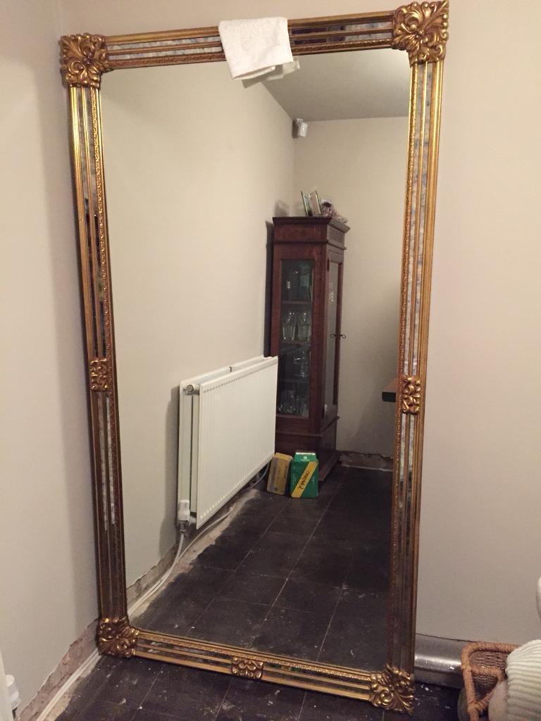 Gilt Ornamental Mirror