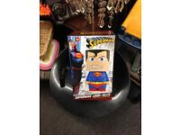 Superman look-Alite light lamp bedside table reading night