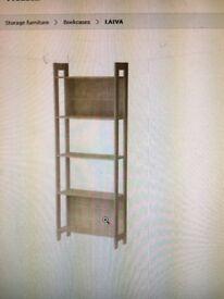 Bookcase/shelving unit in birch veneer