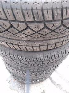 P215/50ZR17x4 CONTINENTAL EXTREME CONTACT ALL SEASON USED FOR SALE