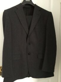 Charcoal grey Marks and Spencer's man's suit
