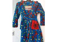 Spiderman dressing gown age 7-8