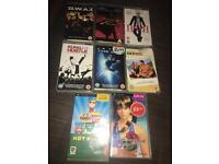 PSP Movies & Games