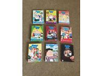 Family Guy DVDs £2 Each