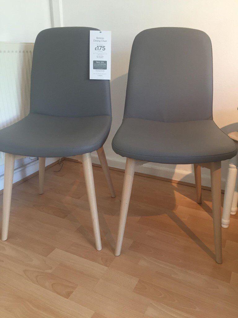 Kenton Dining Chairs Set Of 2 Brand New