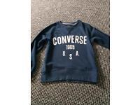 Boys converse jumper 8-10 years
