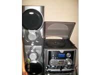 HiFi Multi functional Stereo Music System Tape decks with 3 CD changer Record player