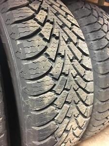 winter tires/rims (goodyear nordic winter 235/55r17)
