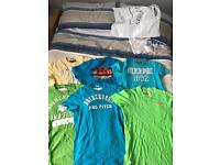 Hollister and Abercrombie t shirts
