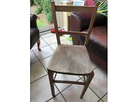 Kitchen chair - needs mending/doing up