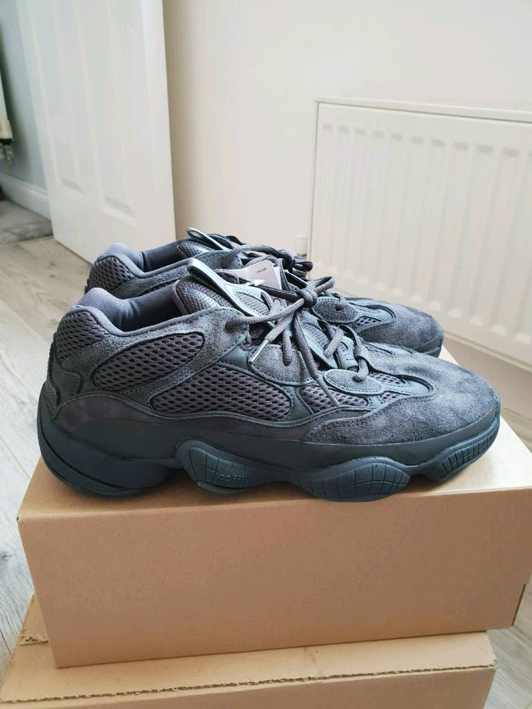 6ccdd8e7a6f3b Adidas Yeezy 500 Utility Black UK 10