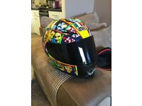 AGV Valentino Rossi Helmet Size Large limited edition